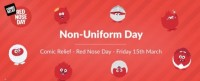 Comic Relief - Red Nose Day - Non-Uniform Day